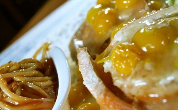 Rollo de Trucha. Fuente: Restaurante MamaSanta Facebook com